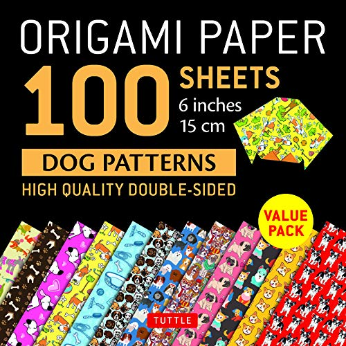 Origami Paper 100 sheets Dog Patterns 6