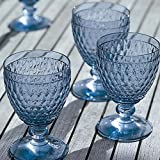Boston Wine Goblet Set of 4 by Villeroy & Boch - Blue