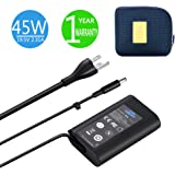 XPS 13 Charger, 45W 19.5V 2.31A Charger for Dell XPS 13 / XPS 12/12 MLK/Inspiron 14 (7437) Laptops, KSW KINGDO Power…