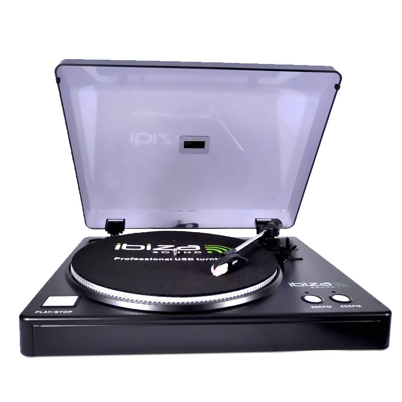 Tocadiscos de vinilo USB 33 y 45trs con software Audacity – Ibiza ...