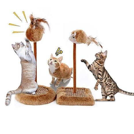 NOZOMI - Juguete rascador para Gatos, Compuesto por Tabla de ...
