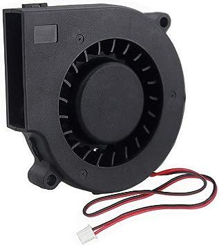 GDSTIME 7530 Blower Fan 75mm x 30mm 5V 2PIN DC Brushless Cooling Blower Fan 75mm Blower Fan