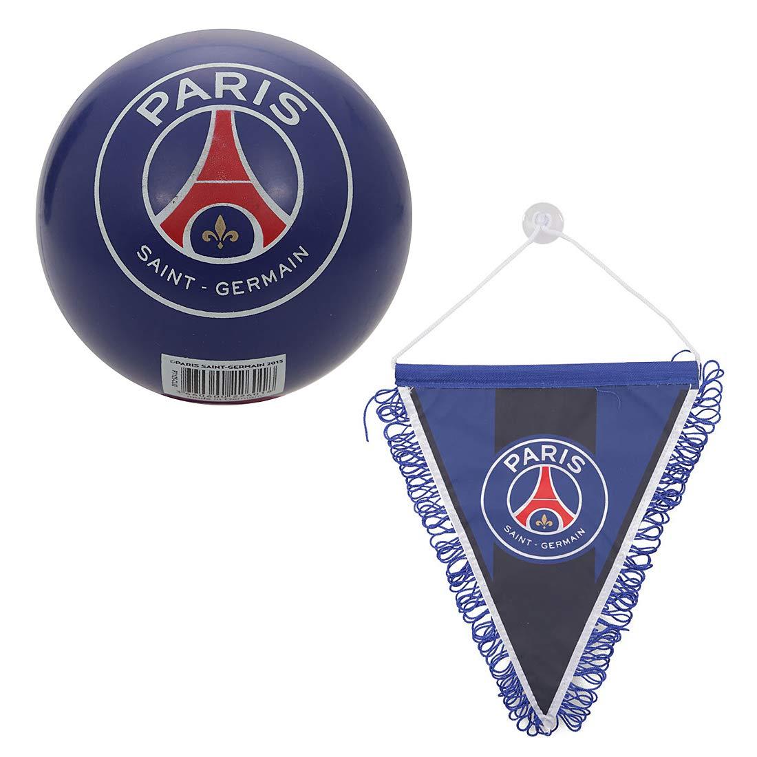 Kit Supporter Fan PSG (Mini balón plástico + Gran banderín ...