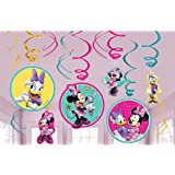 Amscan Swirl Decorations Disney Minnie Mouse Collection Party Accessory