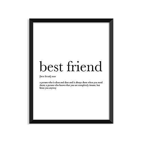 Amazon best friend definition unframed art print poster or best friend definition unframed art print poster or greeting card m4hsunfo