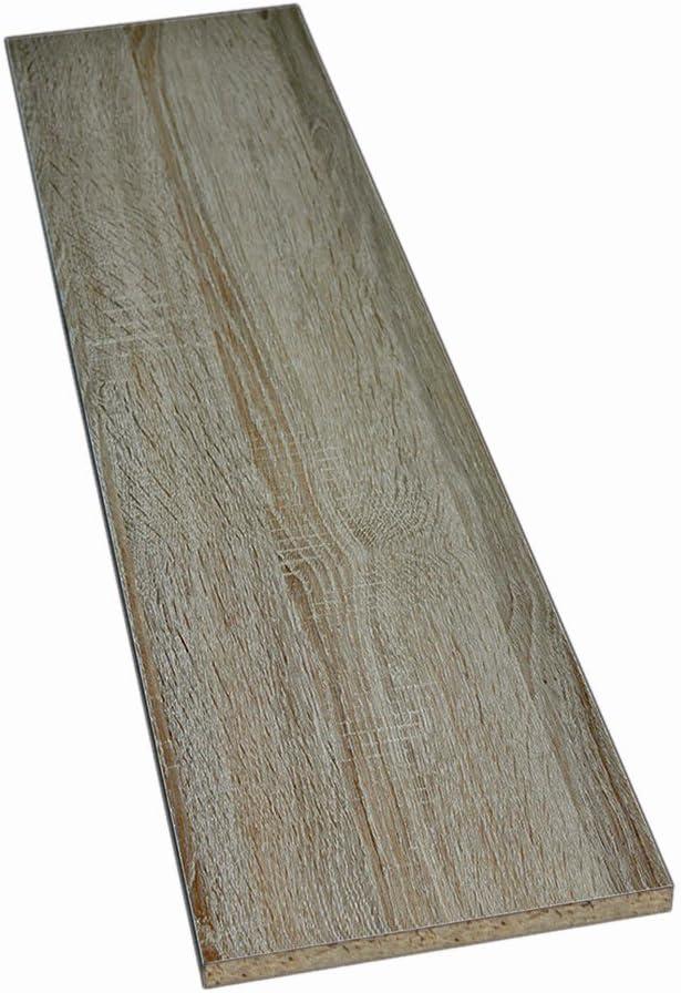 2 Seiten umleimt M/öbelbauplatte Regalbrett Sonoma Eiche 2600 x 300 x 19 mm