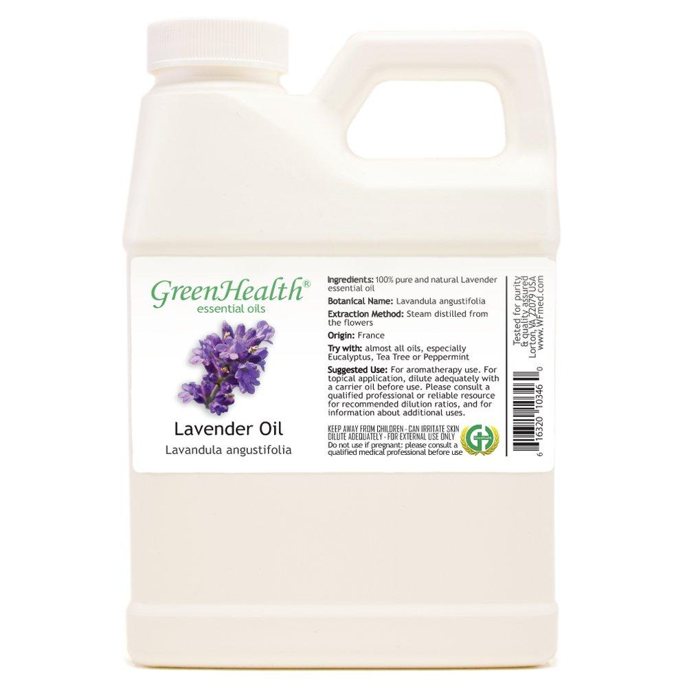 GreenHealth - Lavender 100% Pure Essential Oil - 16 fl oz