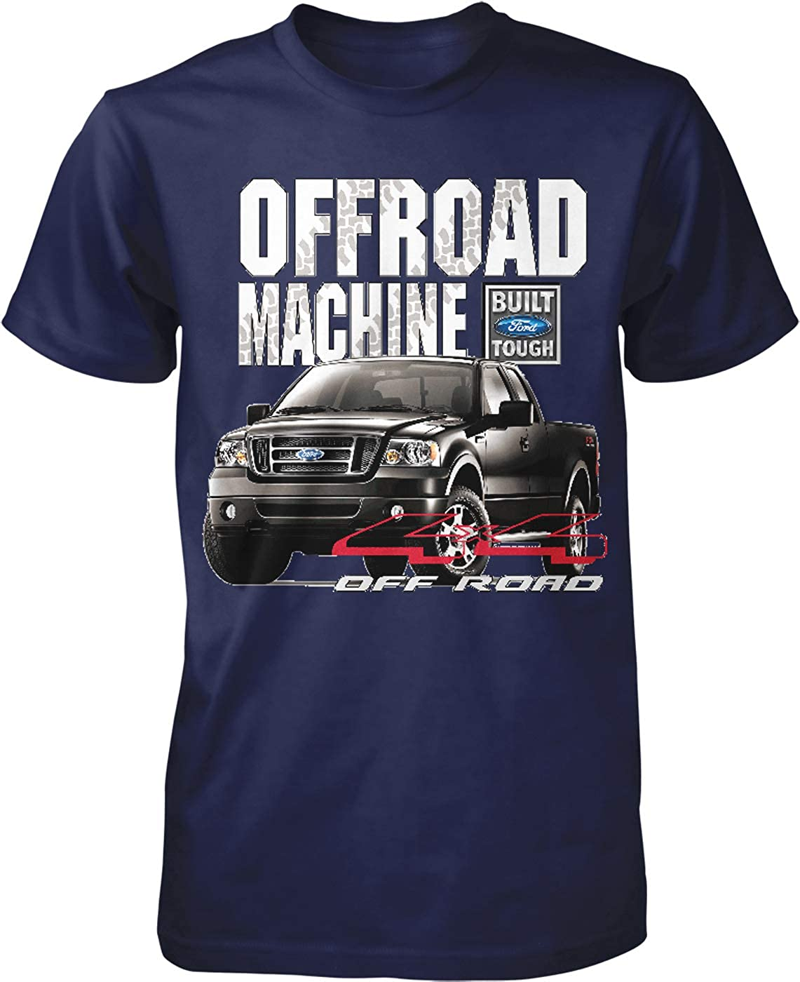 Hoodteez Ford F-150 Offroad Machine Built Ford Mens T-Shirt