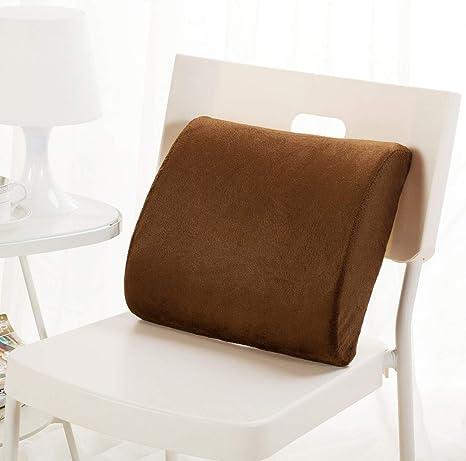 LXD Cojín de confort, memoria Lumbar de algodón de apoyo ...