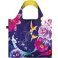 LOQI LQB1-SNHU Shinpei Naito Shopping Bag, Hummingbirds, L Capacity