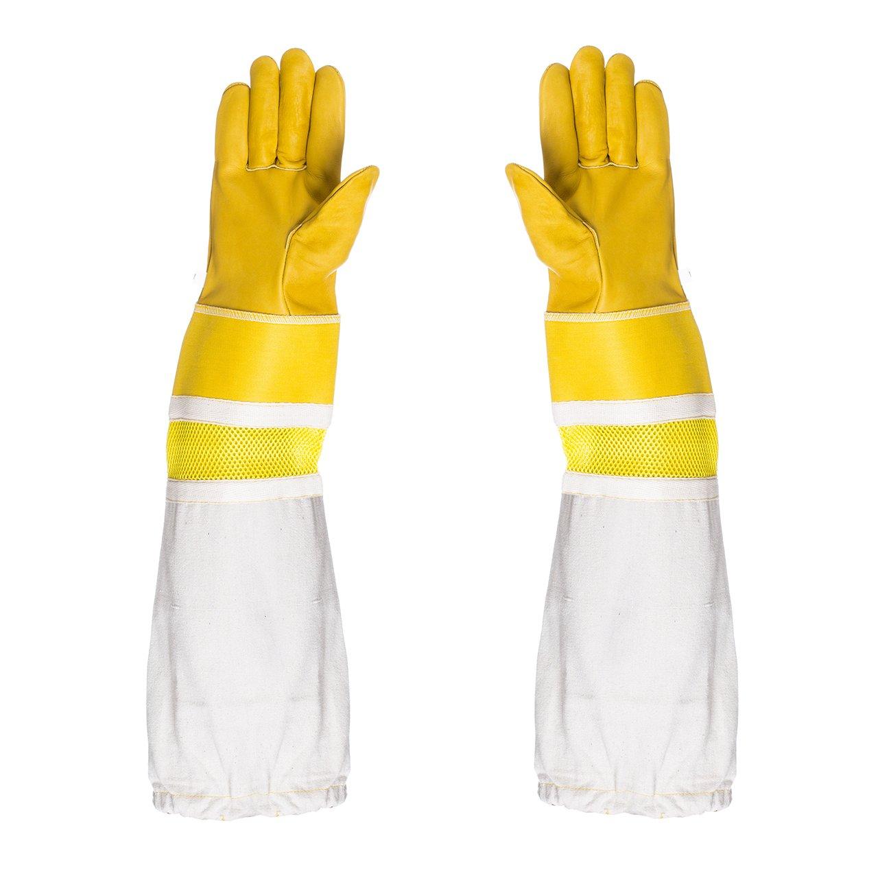 Zubehör Imkerhandschuhe Handschuhe Universal 1 Paar Halten Belüftet Pack