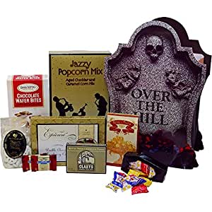 Over The Hill Birthday Fun Gift Bag Tote of Treats