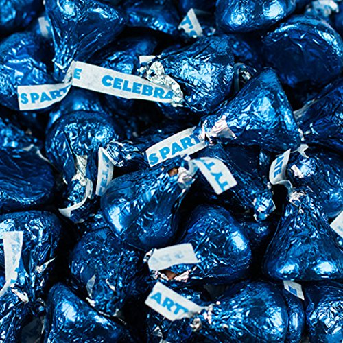 Blue Hershey's Kisses Party Mix (1.1 lb) -
