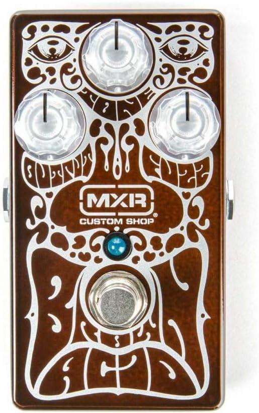 MXR Edición limitada CSP038 Custom Shop - Pedal de efecto de guitarra con efecto de ácido, color marrón