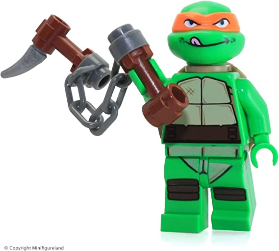 Amazon.com: LEGO Minifigura De Las Tortugas Ninja ...