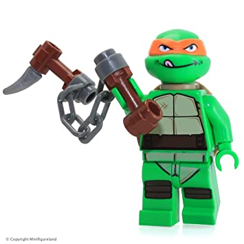 LEGO®TMNT Michelangelo V2 Minifigura - Tortugas Ninja Mutant ...