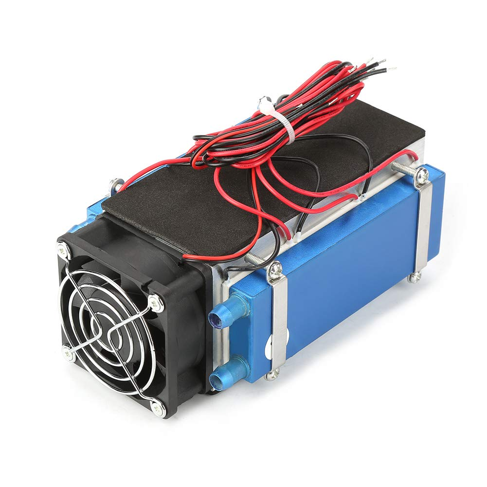 Cooler DC 12V 4//6 Chip Semiconductor Refrigeration Machine Cooler DIY Radiator Air Cooling Device DC 12V 6 Chip
