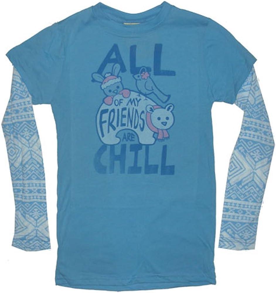 Junk Food Tweens All My Friends Are Chill 2Fer Shirt