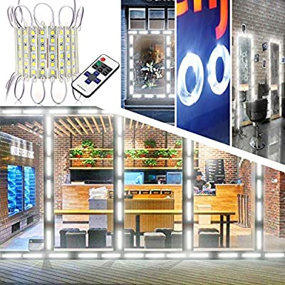 Storefront Lights, EAGWELL 40 Ft 80 Pieces Store Window LED Lights 4 Sets 5054 LED Module Light LED Window Lights (5050 Upgraded Version Sign Light) from Eagwell