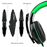 Gaming Headset,DLAND 3.5mm Wired Bass Stereo