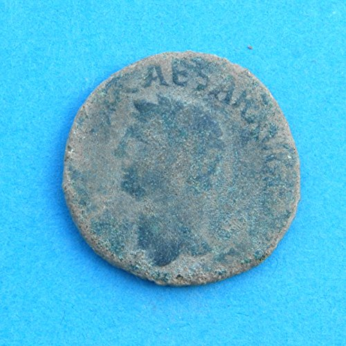 IT Roman Claudius I Roman Emperor from 41 to 54 AD Found in Spain Coin Very Good