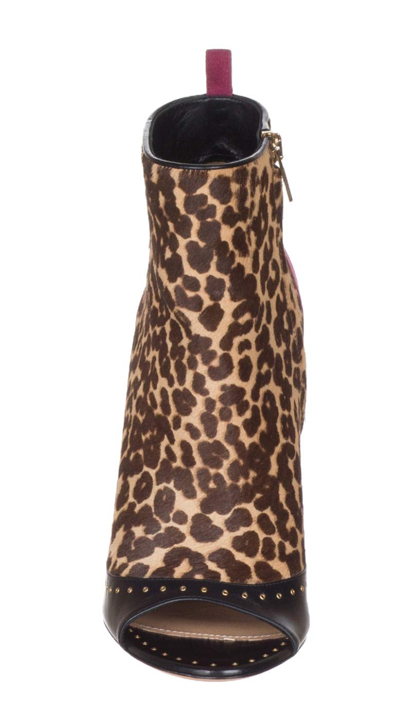 6eeefc3468eee Salvatore Ferragamo Women's Leopard Calf Hair 'Liskia' Open Toe ...