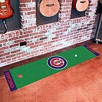 Fanmats MLB Chicago Cubs Nylon Face Putting Green Mat