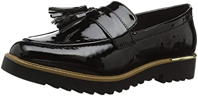 New Look Jetal, Mocasines para Mujer, Negro (Black 1), 36 EU