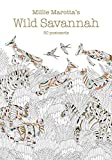 Millie Marotta's Wild Savannah (Postcard Book): 30 Postcards (A Millie Marotta Adult Coloring Book)