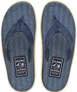 product image for Island Slipper Mens Fabric and Suede Sandals