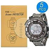 [5-Pcs] for Casio PRW-2500 / PRW2500 Watch Screen Protector,Full Coverage Screen Protector for Casio PRW-2500/PRW-2500T/PRW-2