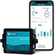 Flume Water Monitor: Smart Home Water Monitoring to Detect Leaks & Track Water Usage in Real Time. Compatible with Alexa.