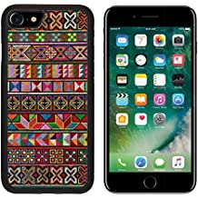 MSD Premium Apple iPhone 7 Aluminum Backplate Bumper Snap Case iPhone7 Cross stitch of Hill tribe people in Northern Thailand IMAGE 21358128