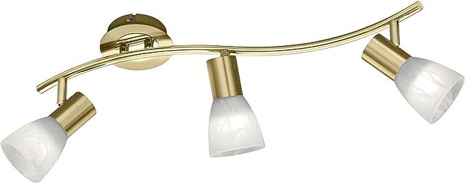 2er Set LED Wand Strahler beweglich Bad Spiegel Beleuchtungen Glas Spot Leuchten