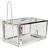 AB Traps Quality Live Animal Humane Trap Catch and Release Rats Mouse Mice Rodents Cage - Voles Squirrel and Similar…