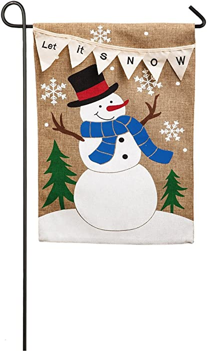 The Best Evergreen Garden Flag Winter