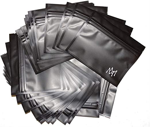 New 4x6 Inches by Interplanetary Development Free Ship 25 Smell Proof Bags