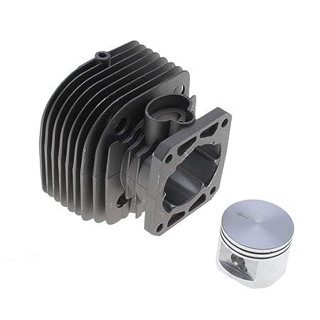 Cilindro Pistón 44 mm adaptable desbrozadora Stihl FS480: Amazon ...