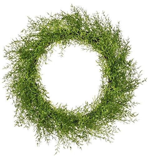 Sullivan's 23'' Green Feather Fern Wreath