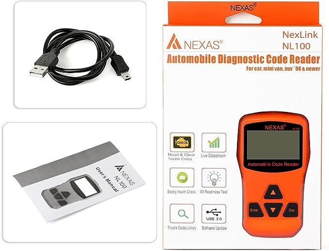 USB cable for Nexas NEXLINK NL100