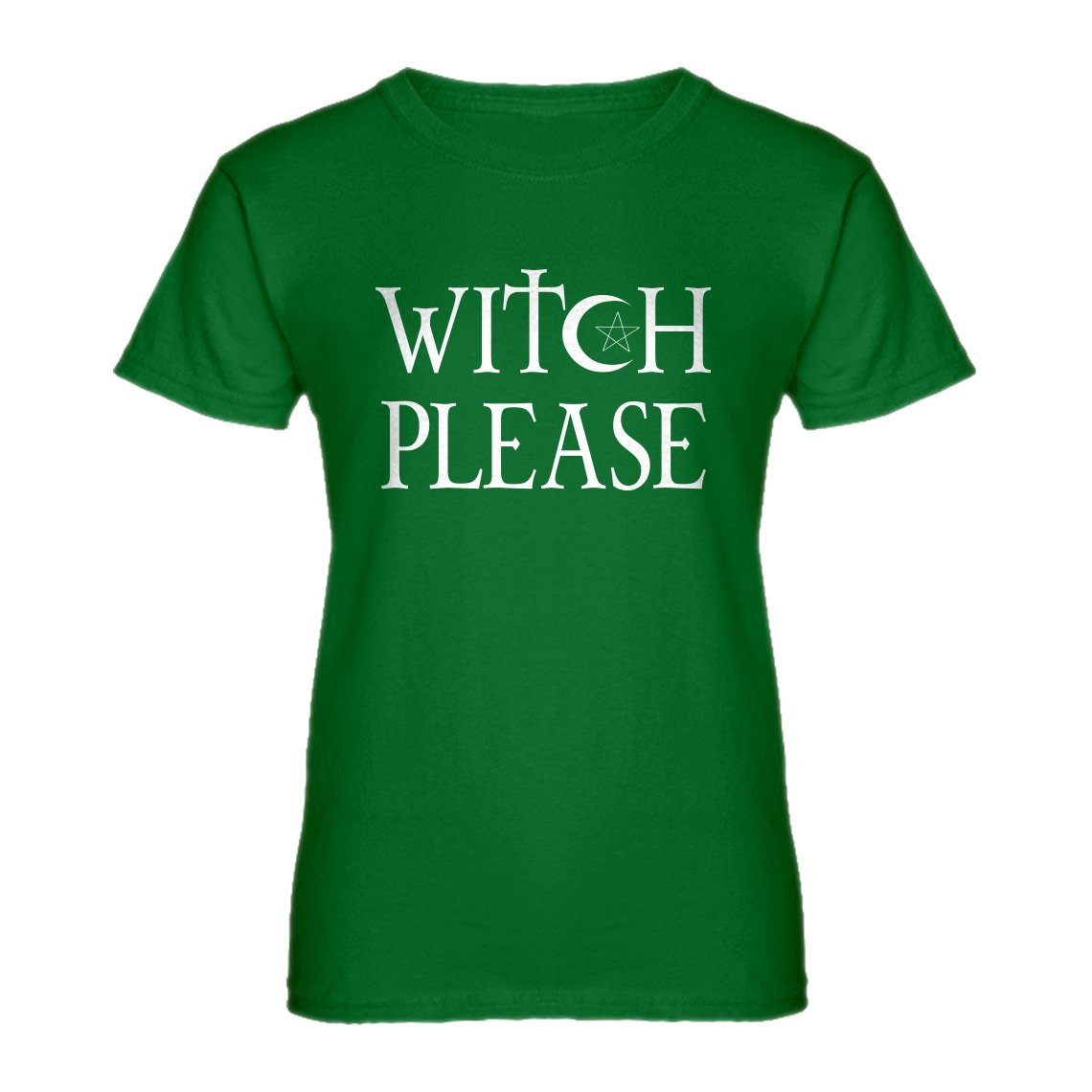 Indica Plateau Witch Please Womens T-Shirt 3034-W