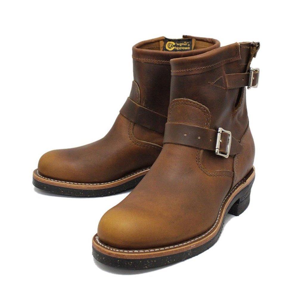 Chippewa 1901 11-Inch Engineer Boots - Handgearbeitete Herren Leder Boots  45.5 EU / 11.5 US|1901m53