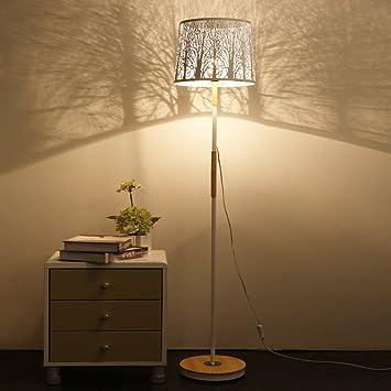 LOFAMI Lámpara de pie Moderna y Elegante de la Sala de Estar ...