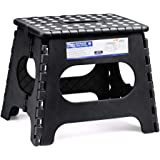 Acko Folding Step Stool for Adults-11 Height Lightweight Plastic Stepping Stool. Foldable Step Stool Hold up to 300lbs Non Sl