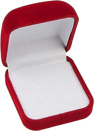 Schmuck Geschenkbox Samt Geschenkschachtel für Hochzeit Geschenk Verpackung,