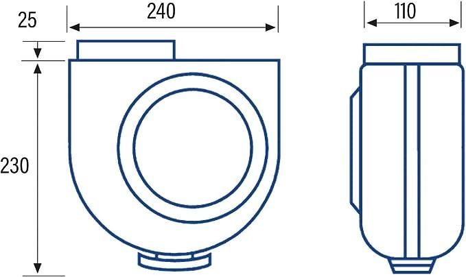 Cata Gs 400 P Extractor de Humos para Cocinas, 60 W, 230 V, Blanco Y Gris, Talla Única: Amazon.es: Bricolaje y herramientas