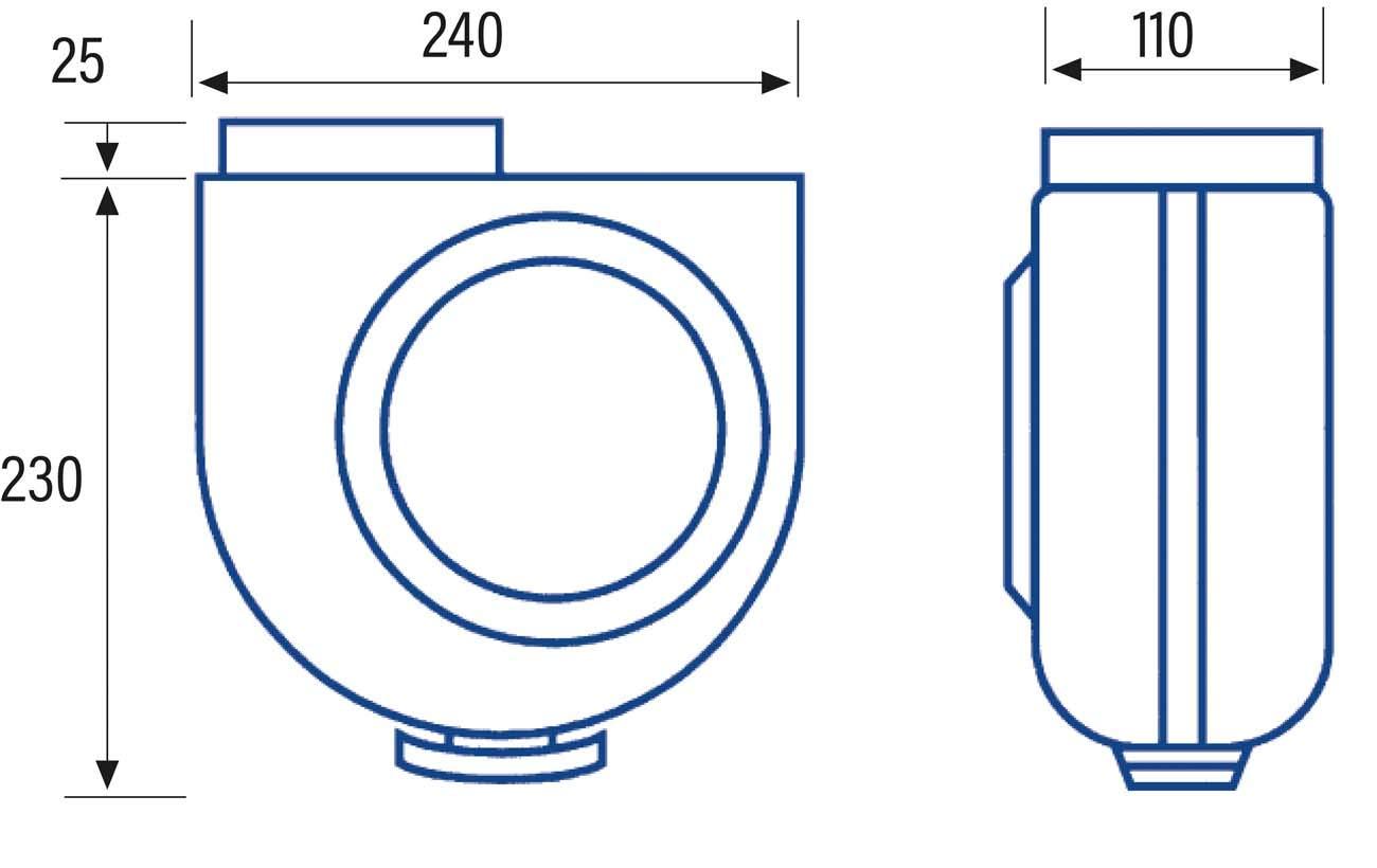 Cata Gs 400 P Extractor de Humos para Cocinas, 60 W, 230 V, Blanco ...