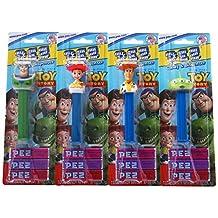 Pez Blister Toy Story Assortment 12 Units, 0.32-Kilogram