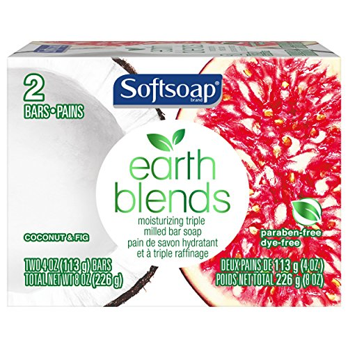 - Earth Blends Bar Soap Coconut & Fig 2 Bars 4 oz (2 pack) 4 Bars Total