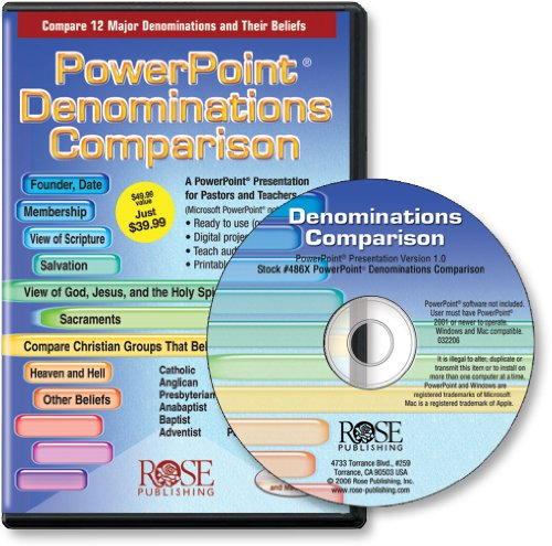 Denominations Comparison (PowerPoint presentation) Rose Publishing